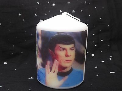Star Trek Mr.Spock Candle Gift