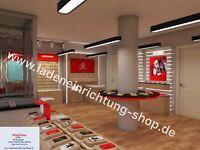 Vodafone Shop Möbel individuelle Möbel Herstellung 3D Plan Bayern - Fuessen Vorschau