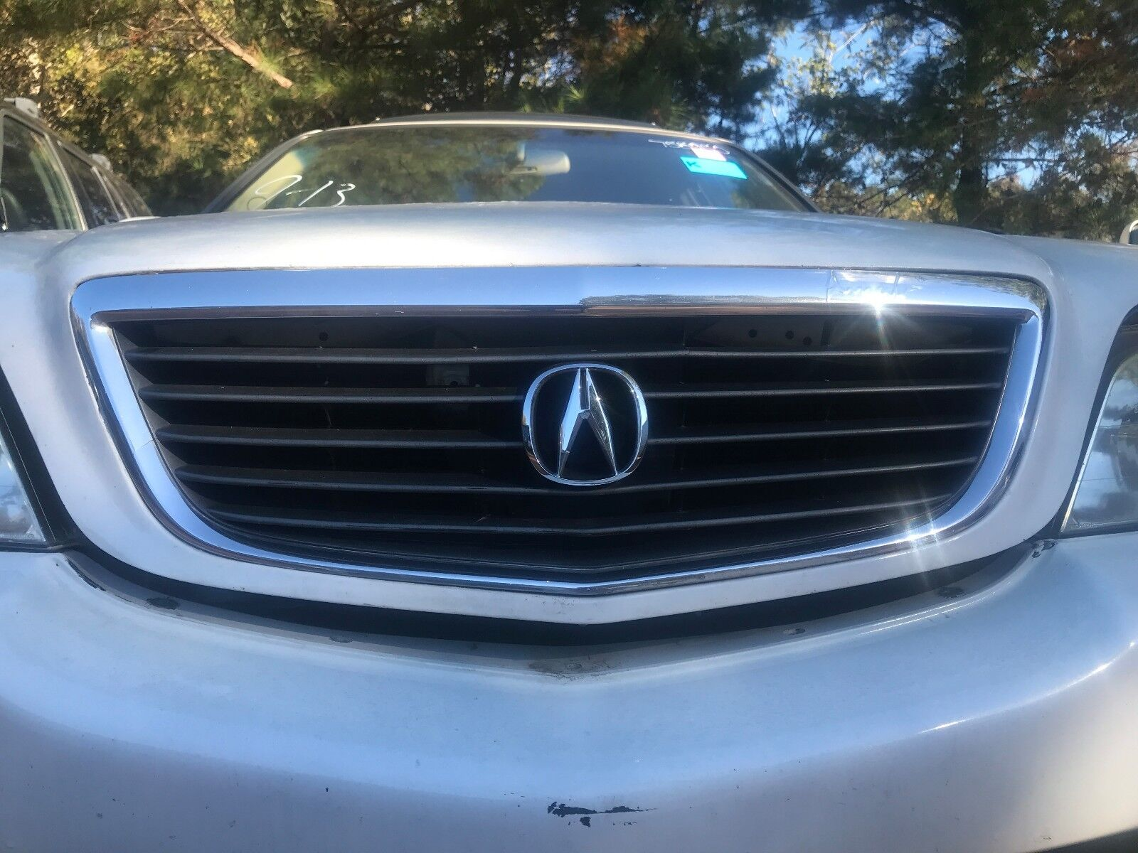 Used Acura Grilles For Sale Page - 2005 acura rl front grill