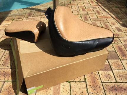 Harley Heritage Springer Ostrich seat ( will fit Fatboy !) Woodvale Joondalup Area Preview