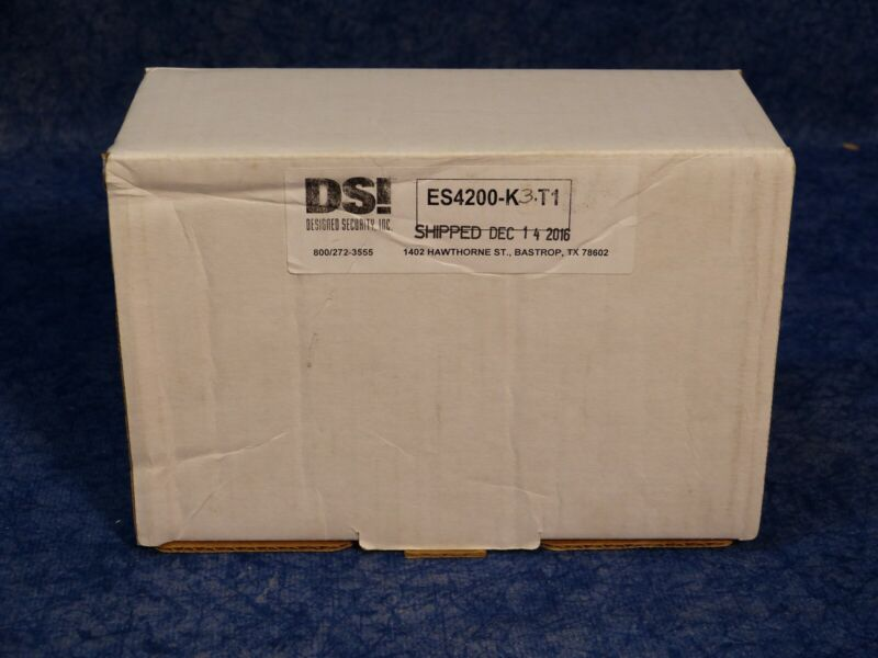 DSI Security ES4200-K3 T1 DOOR MANAGEMENT ALARM,RIM W/CYLINDER W/TAMPER SWTC