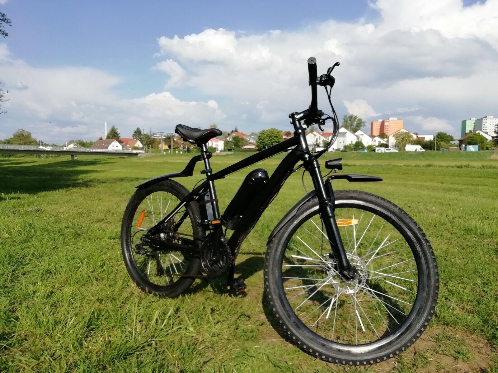 e Bike / Ancheer Black Edition / 30 kmh