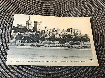 Vintage Postcard Avignon The Rhone River And Popes Palace for sale  Shipping to South Africa