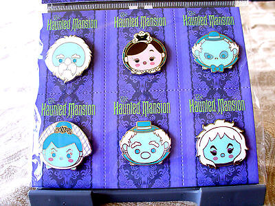 Disney * HAUNTED MANSION - TSUM TSUM * NEW 6 Pin Collection / Booster Set