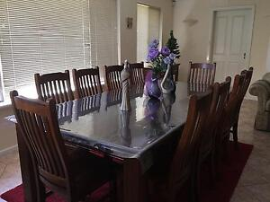 BARGAIN: 8 to 10 seater dining suite (table and chairs) Bull Creek Melville Area Preview