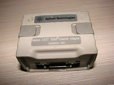 Keysight Agilent Wirescope Pro Cat7 Tera Channel Adapter Smartprobe N2644a-104