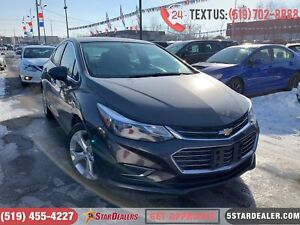 2017 Chevrolet Cruze Premier| 1OWNER | LEATHER | CAM | HEATED SE