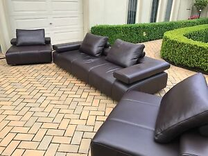 King Furniture Strata 3 Seater Sofa plus two single chairs Ringwood North Maroondah Area Preview