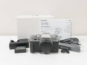 Fujifilm X-T10 Fuji xt10 Digital Camera Body Only (Silver) ~EXCELLENT Tarneit Wyndham Area Preview