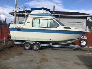 24 ft Reinell Cabin Cruiser for sale!