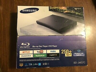 BRAND NEW Open Box Samsung Blu-Ray Player Wifi Model BD-JM57C