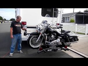 Overbuilt motorcycle lift