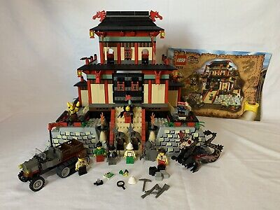 LEGO Orient Expedition 7419 Dragon Fortress, Complete