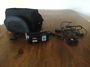 SONY HDR VIEDO CAMERA ***USED ONCE*** Carlton Melbourne City Preview