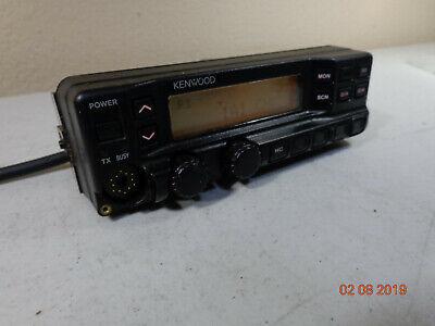 Kenwood Tk-790 Tk790h Vhf Tk890h 45110w Radio Control Head Kch-11 Free Ship