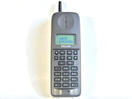 PHILIPS PR 810 - MOBILE PHONE BRICK CELL VINTAGE RETRO RARE COLLECTABLE MOVIE