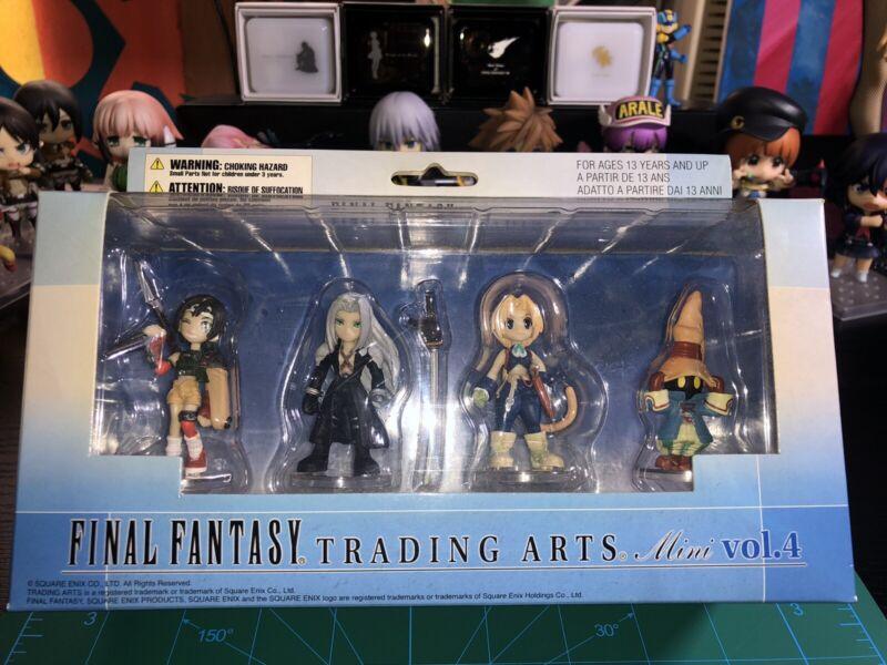 FINAL FANTASY Trading Arts Mini Figure Vol.4 Square Enix
