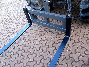 Gabelträger Palettengabel mit Dreipunktaufnahme mit 2 Gabelzinken 1,2m NEU