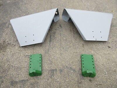 Fenders With Brackets For John Deere 520 530 620 630 720 730 Set