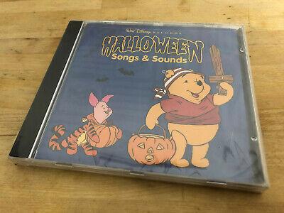 Winnie Pooh Halloween Song (Walt Disney Records Winnie the Pooh Halloween Songs & Sounds CD Sealed)
