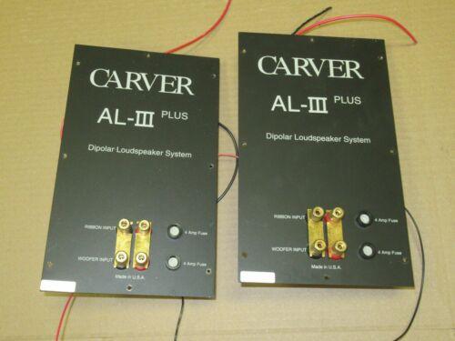 CARVER AL-III Plus speaker pair of Cross over network part carver amazing
