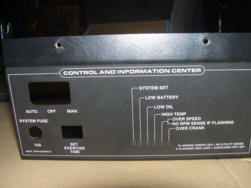 Generac Front Controller Cover Plate from 18kw 0054180