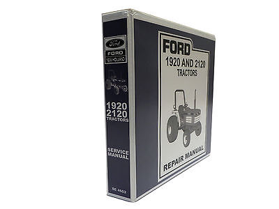 Ford 1920 And 2120 Tractor Factory Service Manual Repair Shop Book New Wbinder