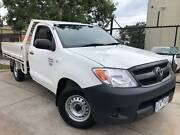 2007 Toyota Hilux Workmate 07 UPGRADE C/CHAS Manual Ute REGO&RWC Moorabbin Kingston Area Preview