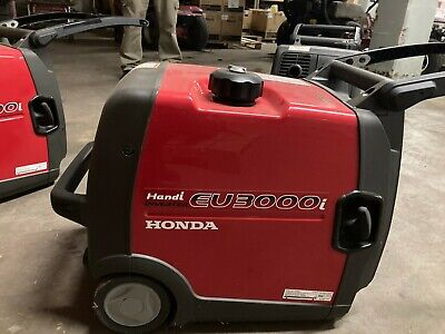 New Honda Eu3000ihan Generator 3 On Hand