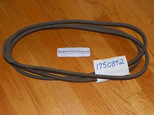 Bolens Eliminator series Mower Deck belt fits 48'' Decks 1750842  MADE IN USA!!!