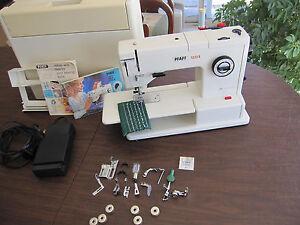 pfaff sewing machine models