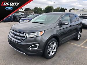 2016 Ford Edge Titanium | Leather | Navi | Dual Moonroof