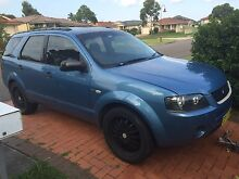 7 seater ford territory Hamlyn Terrace Wyong Area Preview