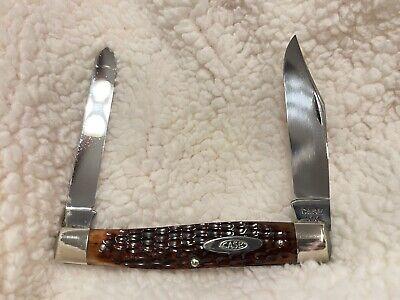 CASE XX 40-64 6275SP MOOSE BONE POCKET KNIFE