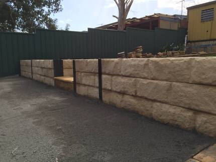 Retaining Walls, Moss rocks or block walls Glenelg North Holdfast Bay Preview