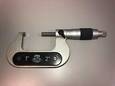 Etalon 1-2 Outside Micrometers .0001 Graduation - In Great Condition