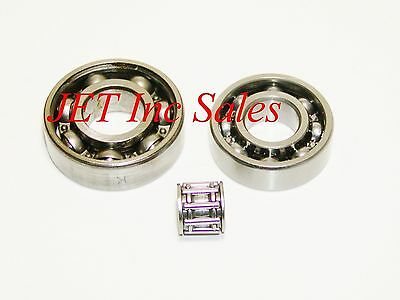 Crankshaft Piston Pin Bearing Set Fits Stihl Ts460 Ts 480i Ts500i 3 Pcs.