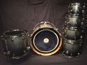 PDP  x7 drum shell pack