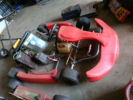 Go Kart, tyres, spare parts