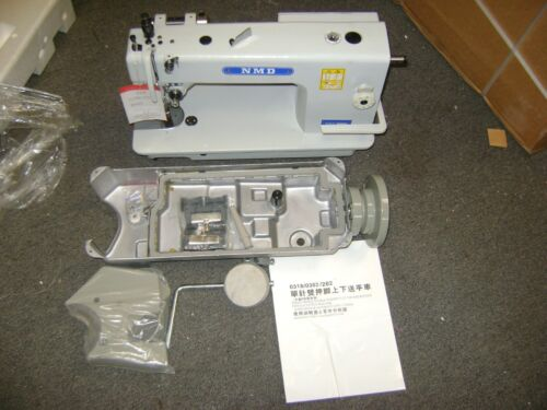 """NMD0303 SINGLE NEEDLE WALKING FOOT INDUSTRIAL LEATHER SEWING MACHINE """"HEAD ONLY"""""""