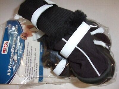 Extreme All Weather Boots - Black All Weather Extreme Outdoor Boots M Dog Shoes Pet Petco snow salt Medium