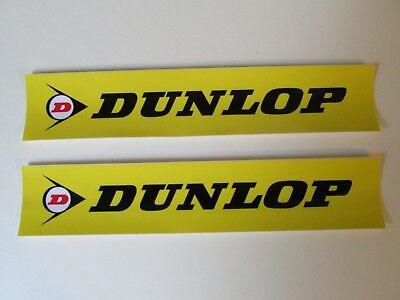 "DUNLOP TIRES Decal Sticker 8.5/"" X 1.9/"" Racing Toolbox Laptop Vehicle Window"