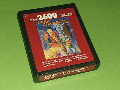 Dark Chambers Atari 2600 VCS Game Cartridge - Atari