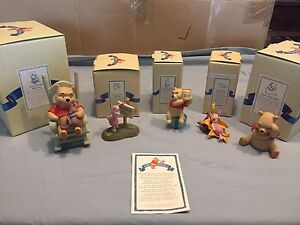 Pooh and friends collectible figurines