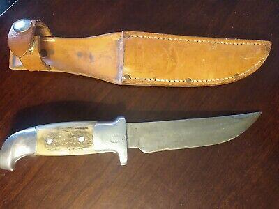 "Ruana M Hunting Knife with Sheath, 6"" Blade"
