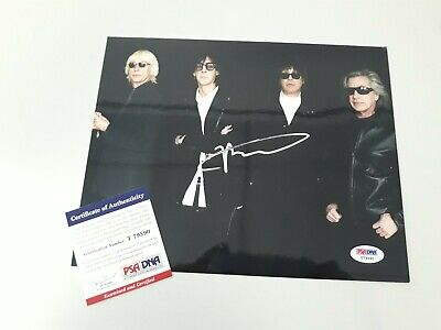 Ric Ocasek Signed THE CARS 8x10 Photo Autographed Best Friend's Girl PSA/DNA