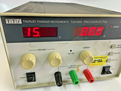 Thurlby-thandar Tsx1820 Precision Dc Power Supply 18v 20a