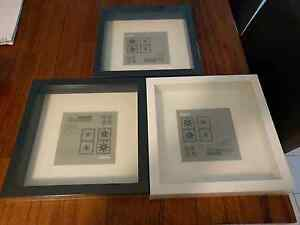 Ikea Ribba Shadowbox Picture Frames x3 Cleveland Redland Area Preview
