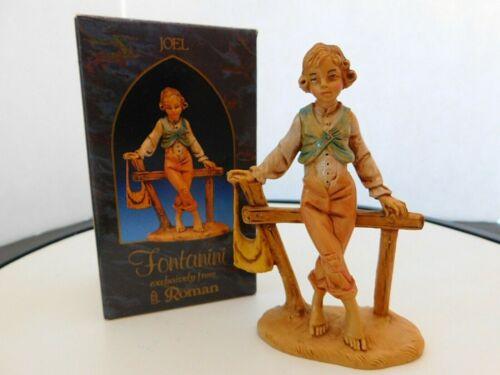 "Fontanini Italy ""Joel"" 5 inches Figurine with Box & Card"
