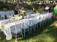 Table chair hire weddings party hire Upper Swan Swan Area Preview